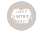 A Long Winter's Night | Creates thoughts of winter nights in a cabin in the woods.