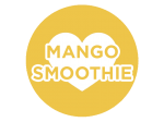Mango Smoothie | A fusion of mango and coconut milk topped with pineapple, orange and a splash of peach.