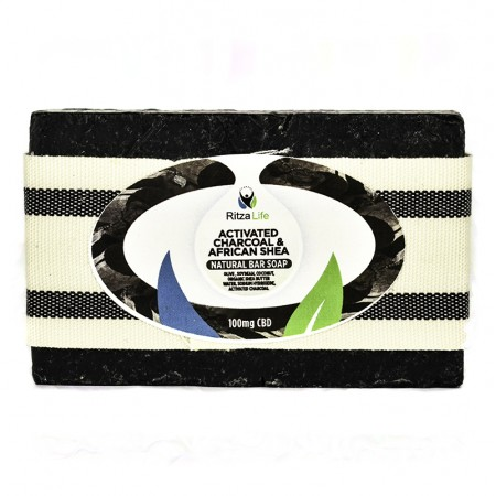 Activated Charcoal Soap - Natural